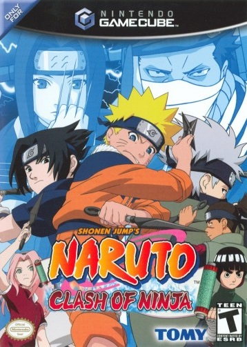 Cover art for the North American version of Naruto: Clash of Ninja