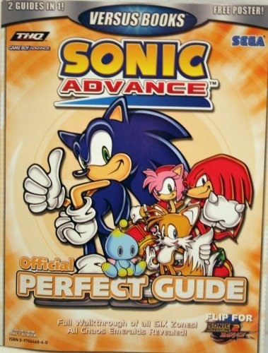 The cover for the Sonic Advance guide